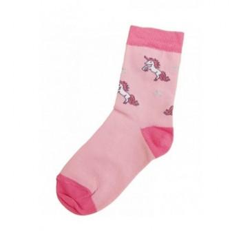 Unikornis rózsaszín prémium zokni (26-28)