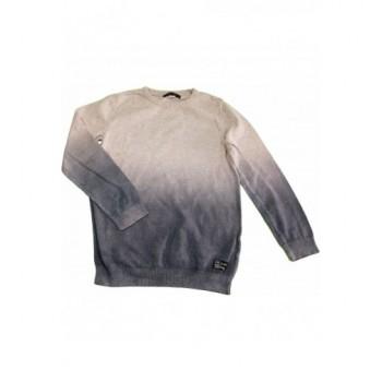 Ombre szürke pulóver (140)