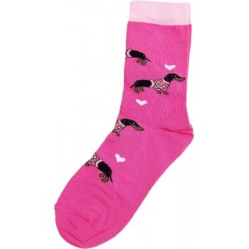 Tacsis, pink prémium zokni