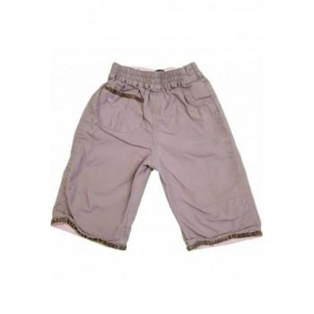 Feliratos drapp nadrág (62-68)