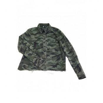 Terepmintás keki kabát (152)