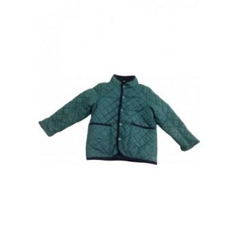 Steppelt sötétzöld kabát (110)