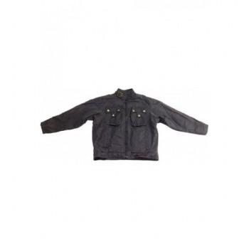 Vagány fekete kabát (128)