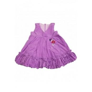 Lila mikrokord ruha (62-68)