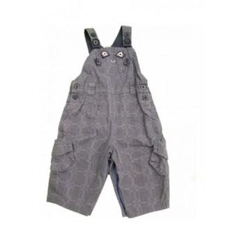 Kockás kék kantáros nadrág (62-68)