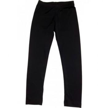 Csillogós fekete leggings (110-116)