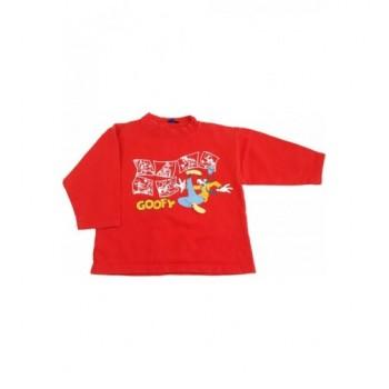 Goofy piros pulóver (104-110)