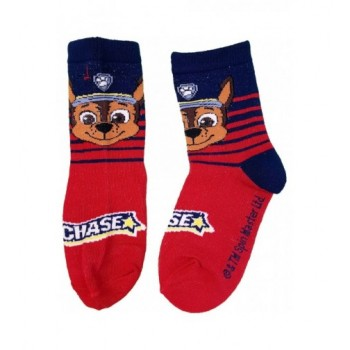 Mancs őrjárat Chase piros zokni (23-26)