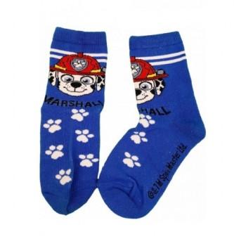 Mancs őrjárat kék Marshall zokni (23-26)
