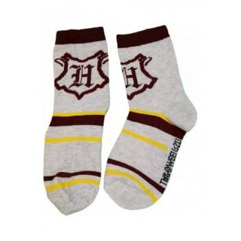 Harry Potter bordó-szürke zokni (23-26)