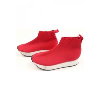 Piros Zara cipő (32)