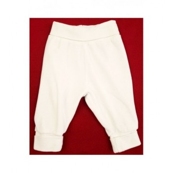 Fehér plüss nadrág (56)