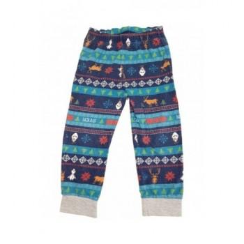 Jégvarázs kék pizsamanadrág (92-98)