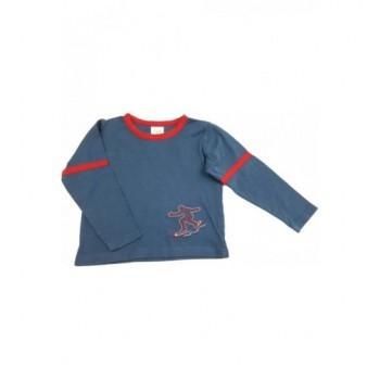 Szörfös kék pizsamafelső (104)