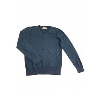 Zöldeskék Next pulóver (170)
