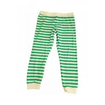 Zöld csíkos pizsamanadrág (104)