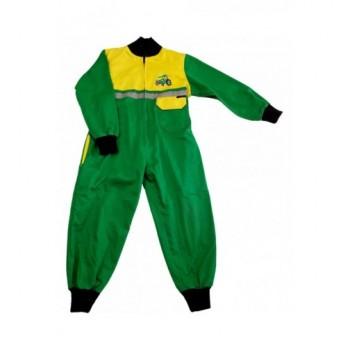 Traktoros zöld-sárga overál (98)