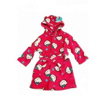 Hello Kitty pink köntös (92-98)