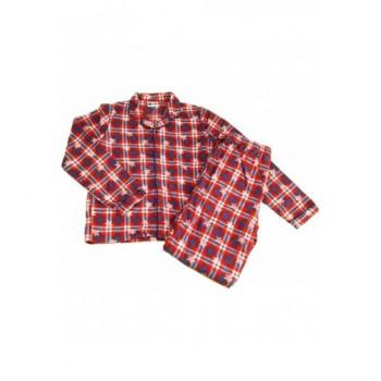 Piros-kék kockás pizsama (152)