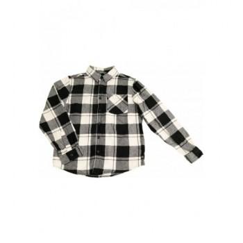 Fekete-fehér kockás ing (140)