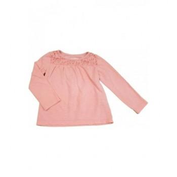 Csipkés rózsaszín felső (98)