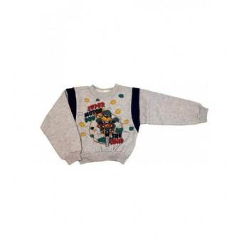 Motoros szürke pulóver (98)
