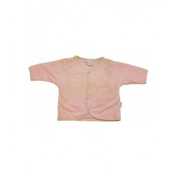 Rózsaszín plüss kardigán (56)