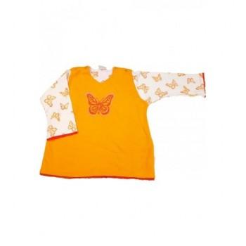 Pillangós narancssárga felső (86)