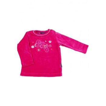 Virágos pink pulóver (74)