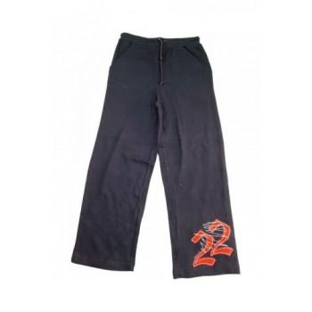 Feliratos sötétkék nadrág (122)