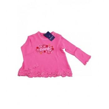 Fodros pink felső (68)
