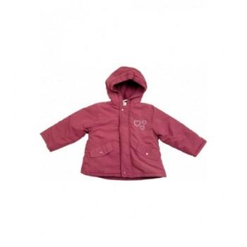 Szívecskés lila kabát (98-104)