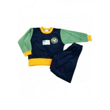 Focilabdás sötétkék pizsama (92)