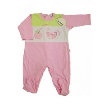 Kiskacsás rózsaszín rugdalózó (68)