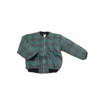 Zöld kockás kabát (164)