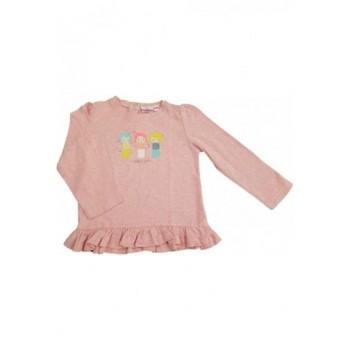Kislányos rózsaszín felső (92)