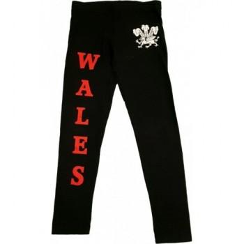 Wales fekete leggings (140)
