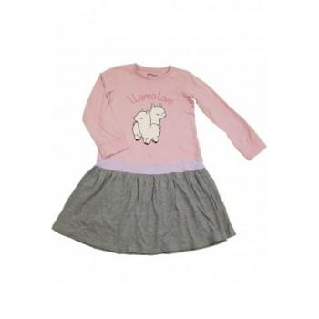 Lámás rózsaszín ruha (116)