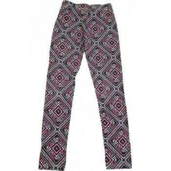 Pink mintás leggings (140)