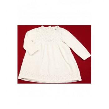 Fehér kötött ruha (74)