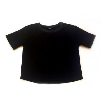 Csinos fekete rövid felső (140-146)