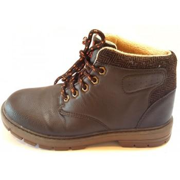 Sötétbarna őszi cipő (33)