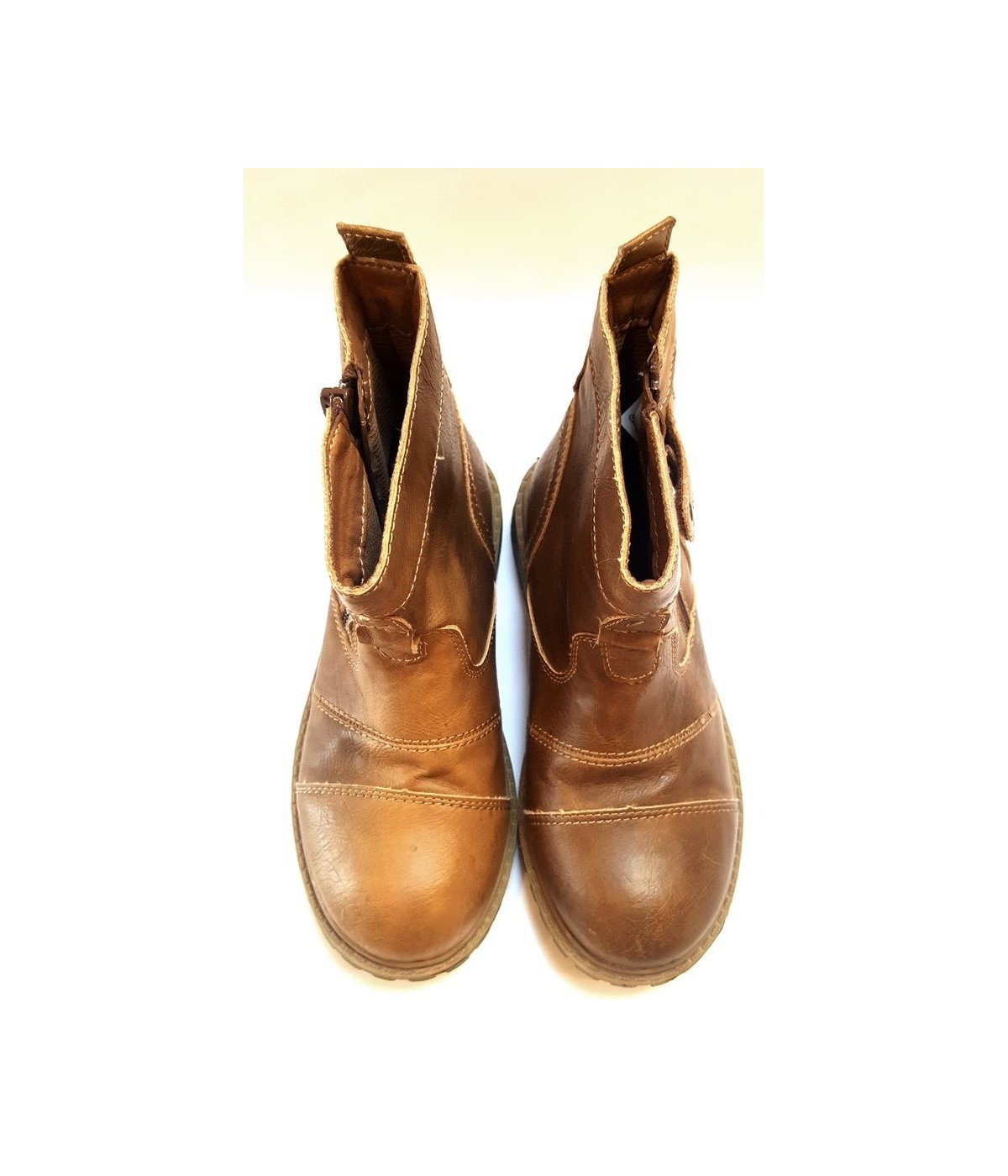 Barna magasszárú cipő (31). Loading zoom 3aadcfd343