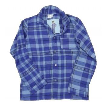 Kék kockás pizsama felső (152)