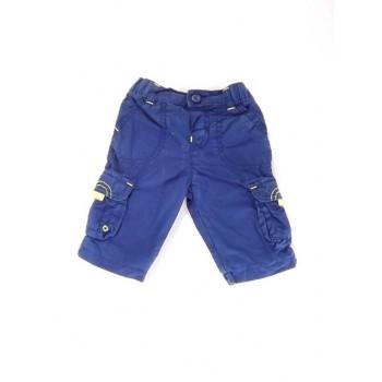Kék-sárga bélelt nadrág