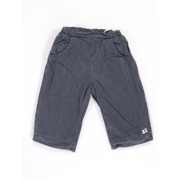 Kék-fehér nyuszis bélelt nadrág