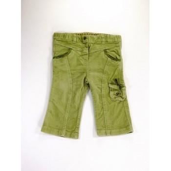 Zöld masnis-zsebes nadrág