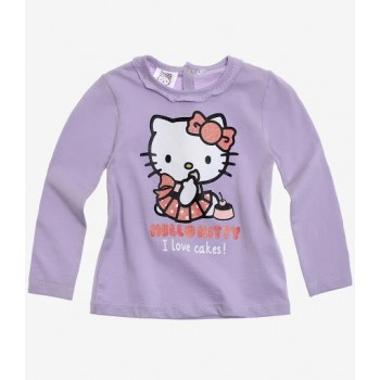 Lila fodros Hello Kitty felső