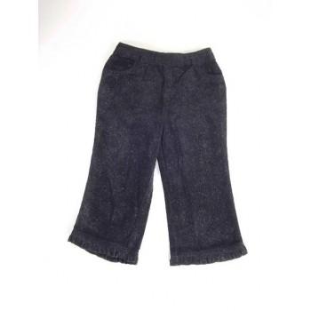 Fekete csillogós nadrág
