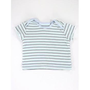 Kék-zöld csíkos póló